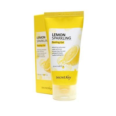 Пилинг-скатка с экстрактом лимона secret key lemon sparkling peeling gel - фото 4781