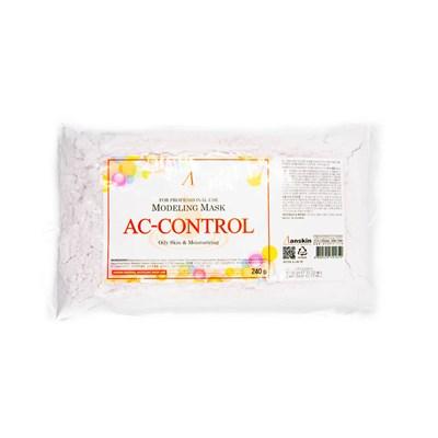 Маска альгинатная для проблемной кожи против акне Anskin Ac Control Modeling Mask - фото 4789