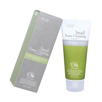 Пенка для умывания 3W Clinic Snail Foam Cleansing - фото 4804