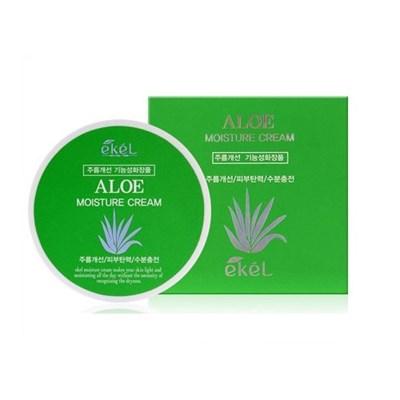 Увлажняющий крем для лица с экстрактом алоэ/Ekel Moisture Cream Aloe - фото 4865