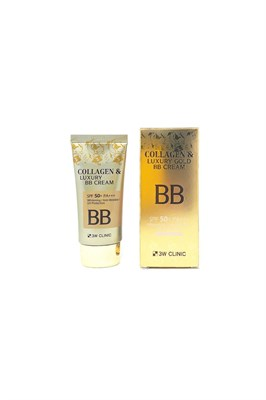 Коллагеновый бб крем 3W Clinic Collagen & Luxury Gold BB Cream SPF50+/PA+++ - фото 4868