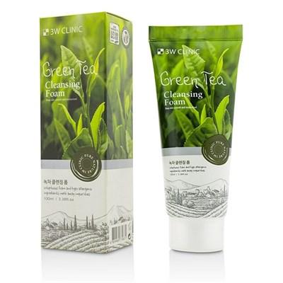 Пенка для умывания 3W Clinic Green Tea Foam Cleansing - фото 4907