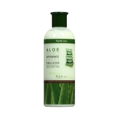 Эмульсия с экстрактом алоэ Farm Stay Visible Difference Fresh Emulsion Aloe - фото 4908