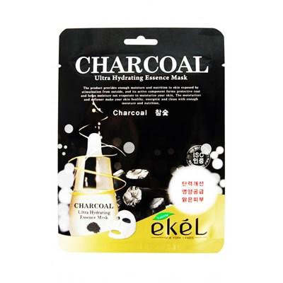 Маска с древесным углем Ekel Charcoal Ultra Hydrating Mask - фото 4914