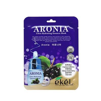 Тканевая маска с экстрактом аронии Ekel Aronia Ultra Hydrating Essence Mask - фото 4915