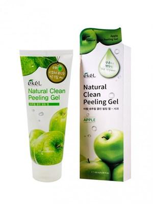 Пилинг-скатка с экстрактом зеленого яблока Ekel Apple Natural Clean Peeling Gel 180 мл - фото 4916