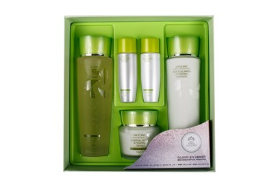 НАБОР для лица 3W CLINIC Aloe Full Water Activating Skin 3 Kit Set - фото 4956