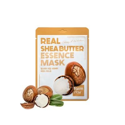 Тканевая маска с маслом ши Farm Stay Real Shea Butter Essence Mask