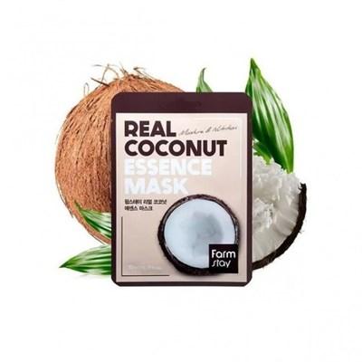 Тканевая маска с кокосом Farm Stay Real Coconut Essence Mask