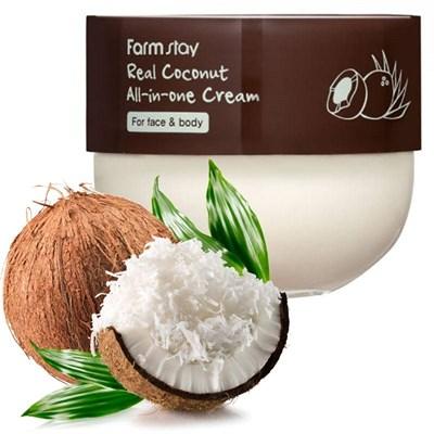 Многофункциональный крем с кокосом Farm Stay Real Coconut All-in-one Cream