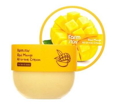 Многофункциональный крем с экстрактом манго Farm Stay Real Mango All-in-one Cream
