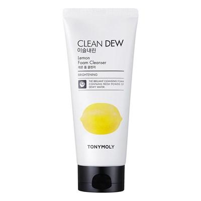 Пенка с экстрактом лимона Tony Moly Clean Dew Foam Cleanser Lemon