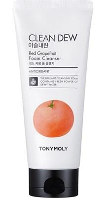 Пенка с экстрактом грейпфрута Tony Moly Clean Dew Red Grapefruit Foam Cleanser