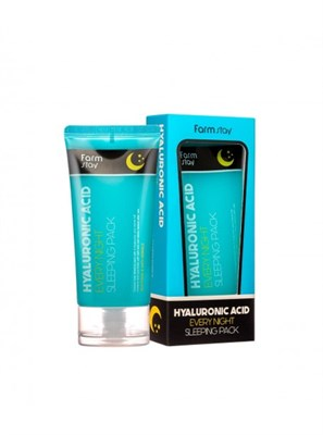 Ночная маска с гиалуроновой кислотой Farm Stay Hyaluronic Acid Every Night Sleeping Pack