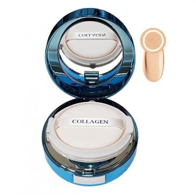 Увлажняющий кушон с коллагеном Enough Collagen Aqua Cushion № 13 - фото 5140