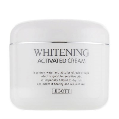 Отбеливающий крем для лица Jigott Whitening Activated Cream - фото 5175