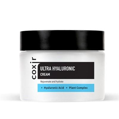Крем увлажняющий с гиалуроновой кислотой Coxir Ultra Hyaluronic Cream - фото 5184