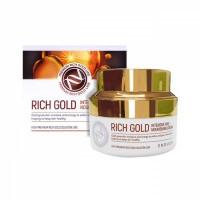 Enough Rich Gold Intensive Pro Nourishing Cream питательный крем для лица с золотом - фото 5213