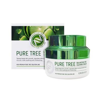 Enough Pure Tree Balancing Pro Calming Cream крем для лица с экстрактами чайного дерева - фото 5215