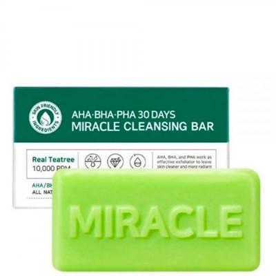 Some By Mi мыло для проблемной кожи AHA-BHA-PHA Miracle cleansing bar, 106 г - фото 5267