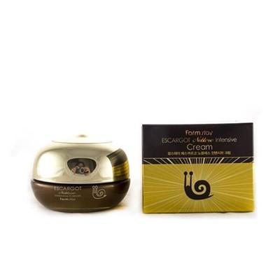 Крем против морщин с экстрактом королевской улитки FarmStay Escargot Noblesse Intensive Cream - фото 5271