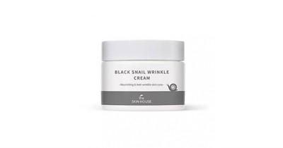 Крем против морщин с муцином улитки и черными бобами The Skin House Black Snail Wrinkle Cream - фото 5272