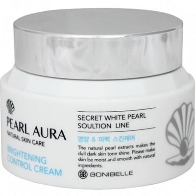 BONIBELLE Крем для лица ЖЕМЧУГ Pearl Aura Brightening Control Cream, 80 мл - фото 5283