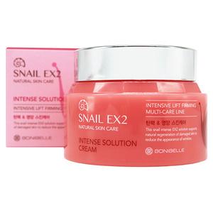 BONIBELLE Крем для лица МУЦИН УЛИТКИ Snail EX2 Intense Solution Cream, 80 мл - фото 5288