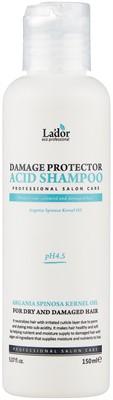 La'dor шампунь Damaged Protector Acid для сухих и поврежденных волос, 150 мл - фото 5300