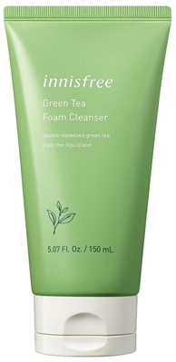 INNISFREE Пенка для умывания Innisfree green tea cleansing foam, 150мл - фото 5302