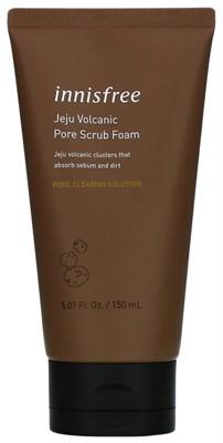 Innisfree пенка-скраб для лица Jeju Volcanic Pore Scrub Foam 150 мл - фото 5303