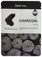 Тканевая маска с углем Farm Stay Visible Difference Mask Sheet Charcoal