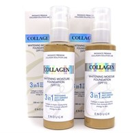 Collagen WHITENING MOISTURE FOUNDATION 3 IN 1 - тон 13