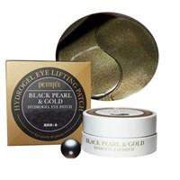 Патчи для глаз PETITFEE Black Pearl & Gold Hydrogel Eye Patch 60 шт