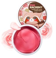 Патчи для глаз и скул Secret Key Pink Racoony Hydro-Gel Eye & Cheek Patch