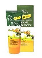 Смягчающий солнцезащитный крем для лица и тела с муцином улитки Ekel Soothing & Moisture Snail S