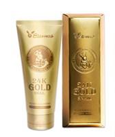 Пенка для умывания МУЦИН УЛИТКИ И ЗОЛОТО Elizavecca 24K Gold Snail Cleansing Foam 180 мл