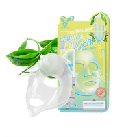 Тканевая маска д/лица Чайное Дерево Elizavecca TEA TREE DEEP POWER Ringer mask pack