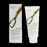 Крем для рук увлажняющий УЛИТОЧНЫЙ МУЦИН 3W CLINIC Snail Hand Cream 100 мл