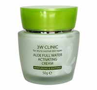 Крем для лица 3W CLINIC Aloe Full Water Activating 50 гр