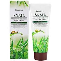 Крем увлажняющий для рук и ног с улиткой Deoproce Moisture Hand & Foot Cream Snail Recovery 100 ml