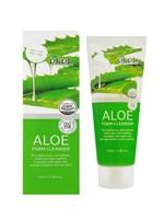 Ekel Пенка для умывания с экстрактом алоэ aloe foam cleanser 100 мл.