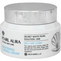BONIBELLE Крем для лица ЖЕМЧУГ Pearl Aura Brightening Control Cream, 80 мл